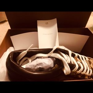 Coach gym shoes NEW with box size 9